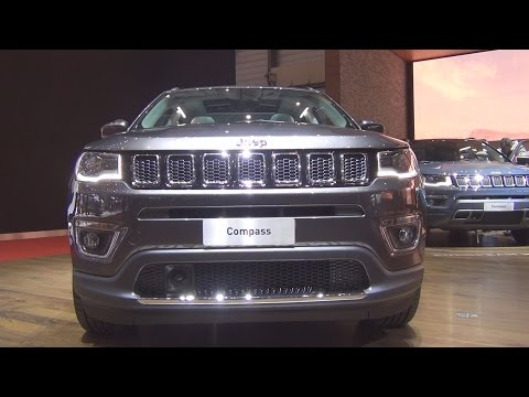 @Jeep #Compass 4x4 (2017) Exterior and Interior in 3D