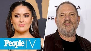 Salma Hayek Claims Harvey Weinstein Threatened To Kill Her If She Refused His Demands   PeopleTV
