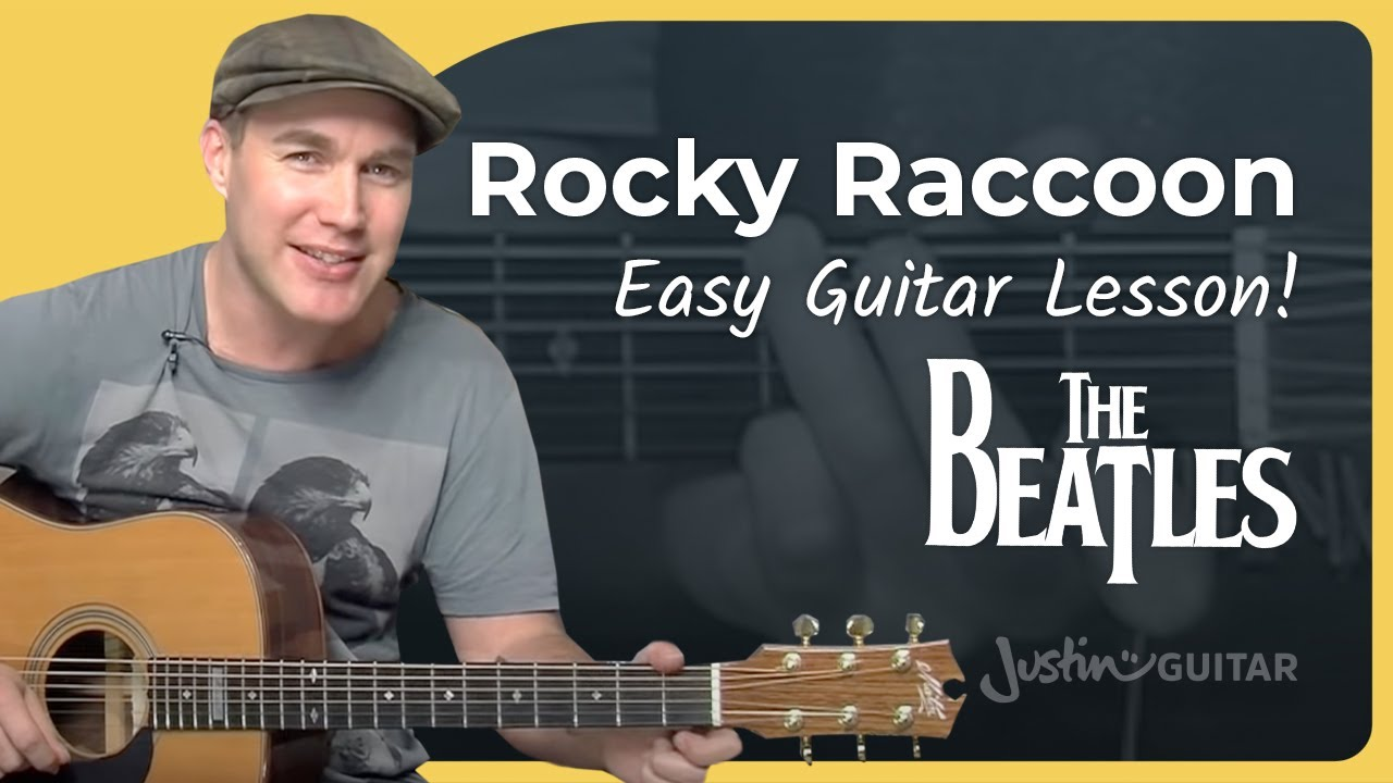 how to play rocky racoon by the beatles song guitar lesson sb 103 youtube. Black Bedroom Furniture Sets. Home Design Ideas