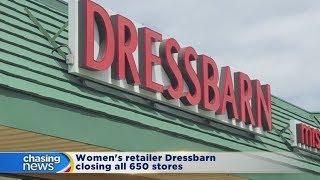Women's retailer Dressbarn closing all 650 stores