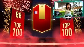 TOP 100 REWARDS! RED IF PLAYER PICK PACKS! FIFA 19