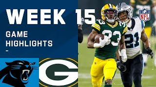 Panthers vs. Packers Week 15 Highlights   NFL 2020