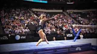 Shawn Johnson at the VISA 2011 Championships