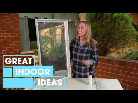 How To Create An Antique Looking Mirror Youtube