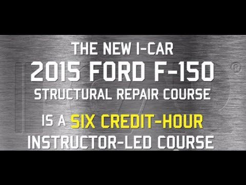 I-CAR - 2015 Ford F-150 Structural Repair Training Course (FOR06)