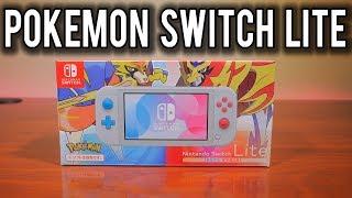 Unboxing the Nintendo Switch Lite Pokemon Zacian and Zamazenta Edition ! | MVG