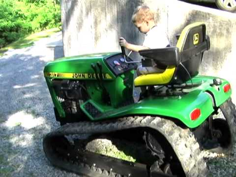 Custom Built John Deere 317 Crawler Youtube
