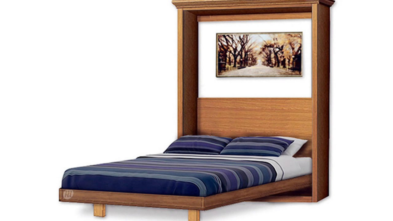 build murphy wall bed yourself under 300 by plans design youtube. Black Bedroom Furniture Sets. Home Design Ideas