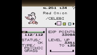 How to get SHINY CELEBI in Pokemon Gold/Silver 3DS VC (Coin Case Glitch) [No Gameshark used]