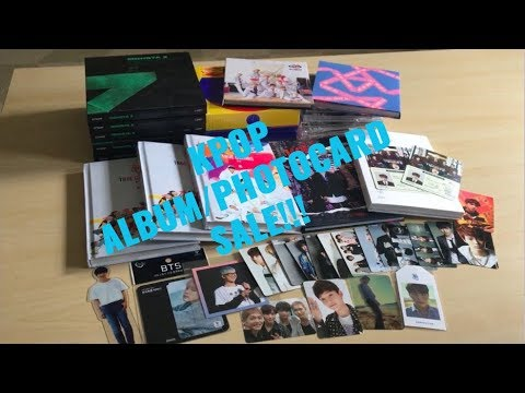 KPOP ALBUM/PHOTOCARD SALE & TRADE! (MONSTA X, JBJ, SHINee, BTS, Seventeen, NCT etc.)