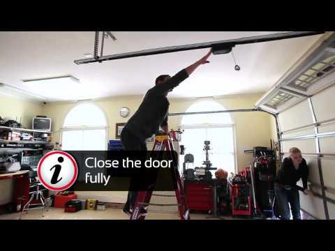Garage Door Opener Installation SOMMER - How to install
