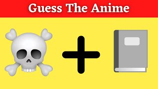 ANIME Emoji Quiz (Guess The Anime 2021) Ultimate Anime Quiz