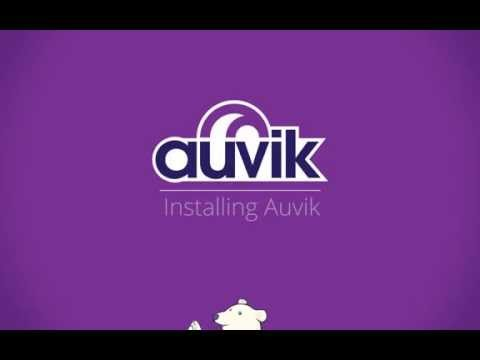 Fast installation of the Auvik network operations system