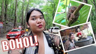 FIRST TIME KONG MAKAKITA NG TARSIER (SUPER CUTEEE!)