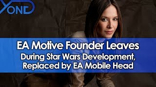 EA Motive Founder Jade Raymond Leaves During Star Wars Development, Replaced by EA Mobile Head