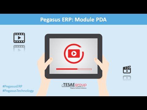 Pegasus ERP - Module PDA