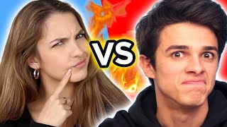 Ultimate TIK TOK YOUTUBE CHALLENGES w/ Brent Rivera, Lexi Rivera, & MORE   AwesomenessTV