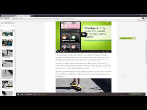 Adobe CQ Demo - Robert Wood Johnson Foundation Case Study  Part 2: Blogging