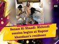 Sonam Ki Shaadi: Mehendi session begins at Kapoor khandaan's residence