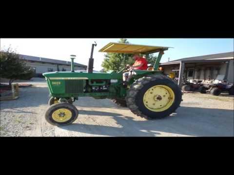 John Deere 3020 tractor for sale | no-reserve Internet auction September 14, 2016
