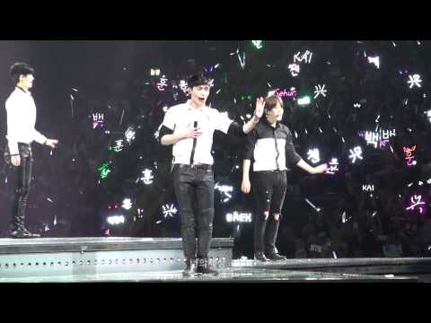 150531 The EXO'luXion in SHANGHAI - 나비소녀(Don't go) (Lay focus)