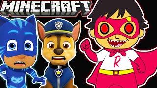 Minecraft | *KraZy* Ryan Toys  - Catboy & Chase
