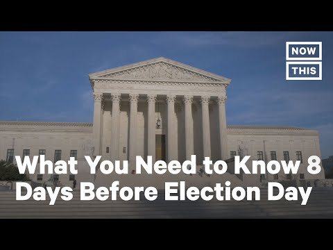 What You Need to Know 8 Days Before Election Day   NowThis