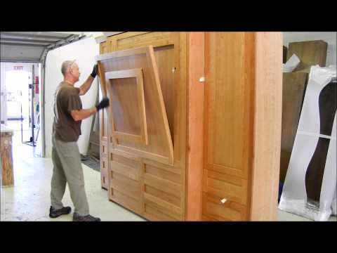 Murphy Bed with Table went to Portland