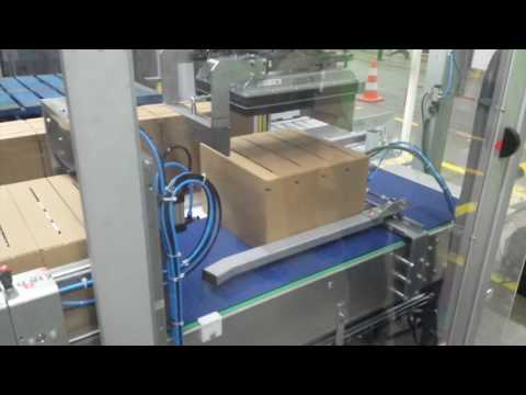 Palletizing cartons with JOULIN Foam Vacuum Gripper