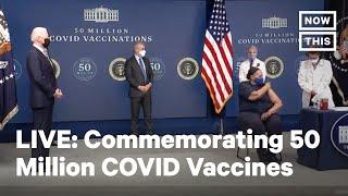 Joe Biden Delivers Remarks on 50M COVID-19 Vaccines | LIVE