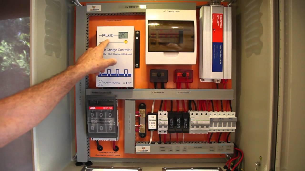 Tall Boy 480 Off Grid Plug Amp Plug Farm Shed Solar Power
