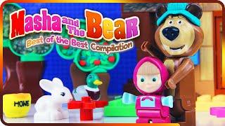 ♥ Best of Masha and the Bear Compilation 2016 Маша и Медведь
