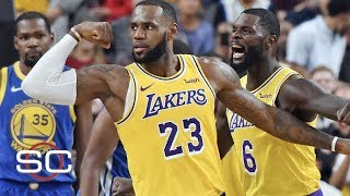 LeBron will benefit physically, mentally from missing the playoffs - Chiney Ogwumike | SportsCenter