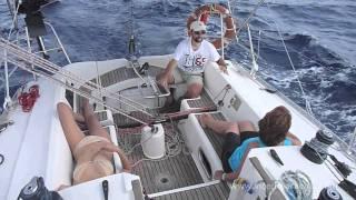 Navegando a vela en mallorca