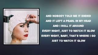 Mitski - A Pearl (Lyrics)