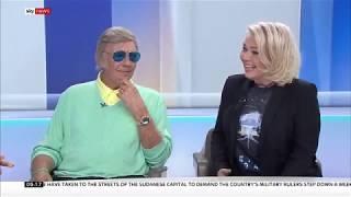 Interview Marty Wilde + Kim Wilde (Sunrise, Sky News, UK)
