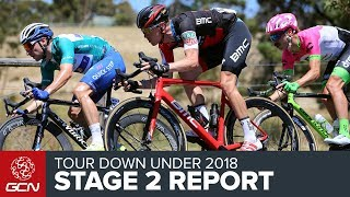 Tour Down Under 2018   Stage 2 Race Report