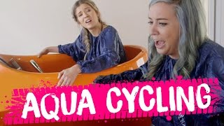 WTF is AQUA CYCLING? (Beauty Trippin)