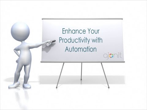 Enhance Your Productivity With Automation