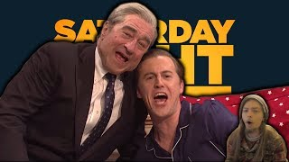 Trump Brothers Bedtime Cold Open: Saturday Night Live | Alex Moffat Robert De Niro(SNL REACTION)