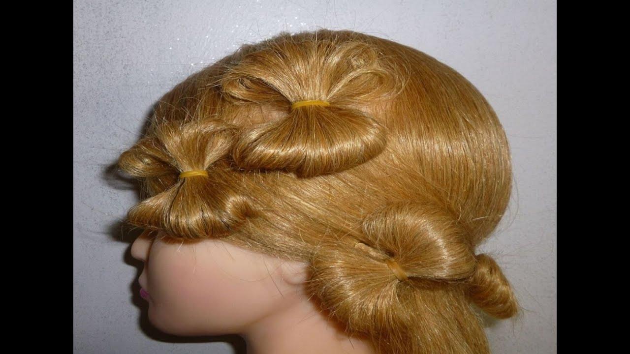 schleifenfrisur schleifen zopf alltag schule uni freizeit hair bow hairstyle peinados youtube. Black Bedroom Furniture Sets. Home Design Ideas