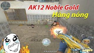 Bình Luận CF: AK-12 Knife-Iron Spider Noble Gold - Anh Đã Già CF