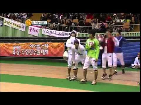SHINee Minho High Jump Cut @ ISO 2011 + f(x) Krystal