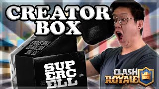 The Clash Royale Supercell Creator Box & Magic Archer Challenge🍊