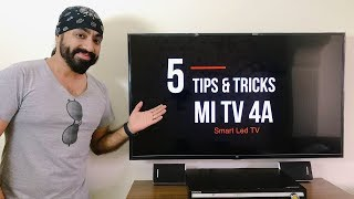 5 Tips & Tricks MI Led Smart TV 4 / 4A (43 inch)