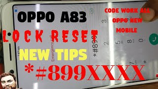 How To Unlock OPPO A3S, A83,A5,A7,F9 Pro/ Real me 1-2-2pro