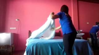 Traditional Bed Making (housekeeping nc2)