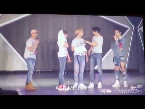 샤이니 종현 생일파티ㅋㅋㅋ (SHINee Japan Tour JongHyun Birthday Party 160409)