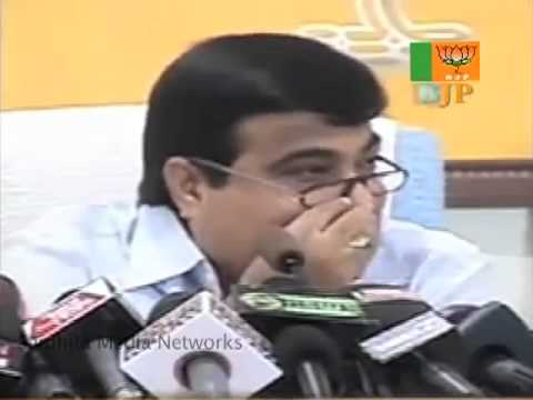 BJP Press: Demands Answers from PM on All Scams: Sh. Nitin Gadkari: 18.11.2010