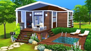 LUXURIOUS TINY HOUSE 🌲 | The Sims 4 | Speed Build